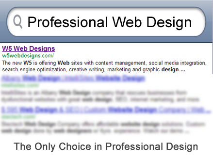About W5 Web Designs