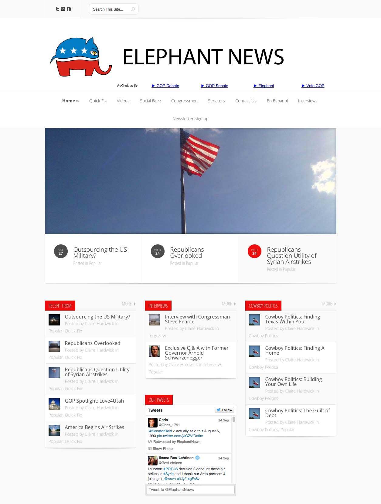 Elephant News